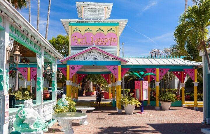 Centro Comercial Port Lucaya em bahamas