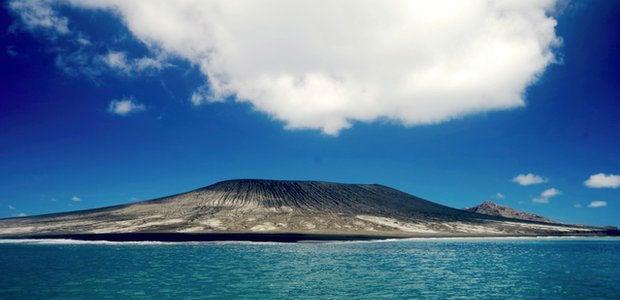 Bem-vindos à nova ilha do Oceano Pacífico