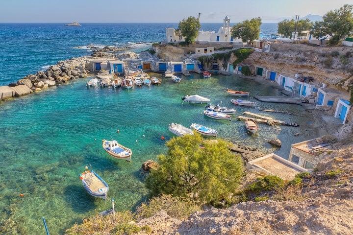 milos ilhas gregas