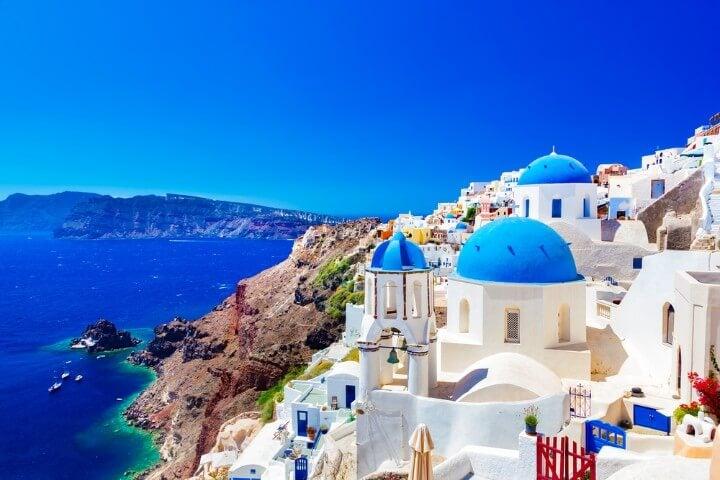 santorini ilhas gregas