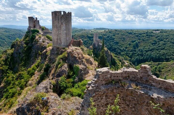 Castelo de Lastours, França