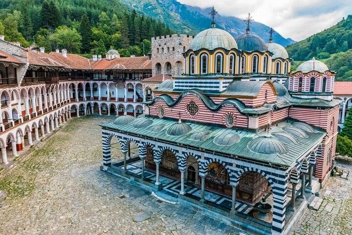 Mosteiro de Rila, Bulgária