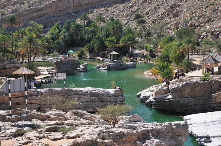 Wadi Bani Khalid, Omã
