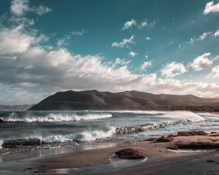 praia em corsega - frança