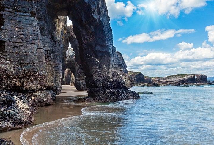 Praia das Catedrais - Lugo