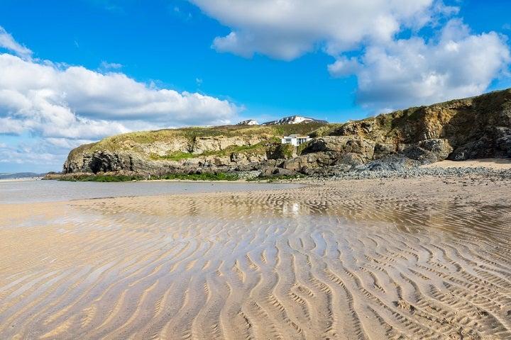 Praia de Hayle Towan - North Cornish Coast, Reino Unido
