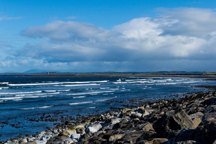 Praia de Silgo na Irlanda