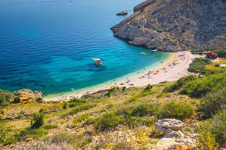 Praia de Stara Baska - Ilha de Krk - Croácia