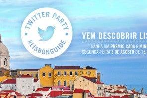 Vem descobrir Lisboa com a nova Twitter Party #lisbonguide