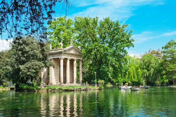jardim Villa Borghèse