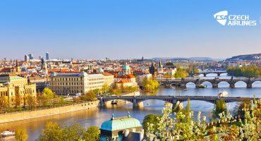 Ganha uma viagem para duas pessoas a Praga