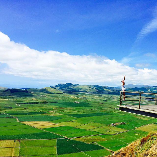 Serra do Cume en Azores