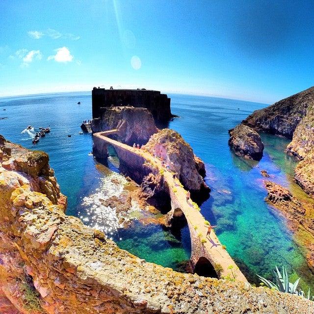 Ilhas Berlengas en Portugal