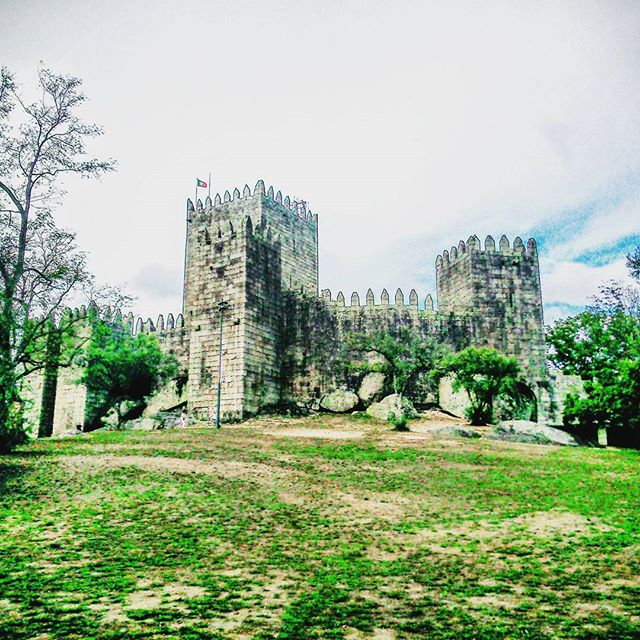 Castelo de Guimarães en Portugal