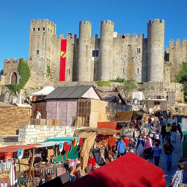 Feria Medieval de Obidos, Portugal