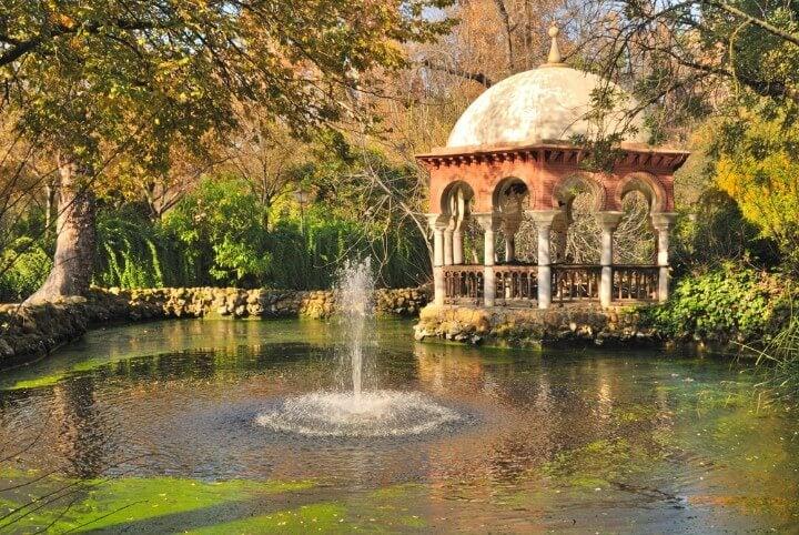 Parque de Maria Luisa em sevilha