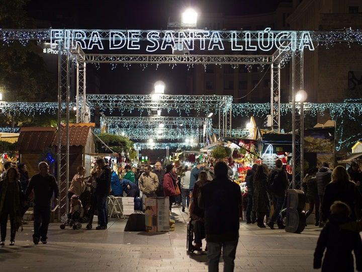 barcelona mercado de natal