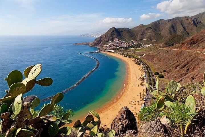 Tenerife in Spain