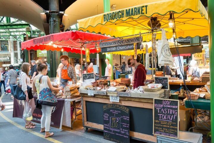 Mercado de Borough - Londres