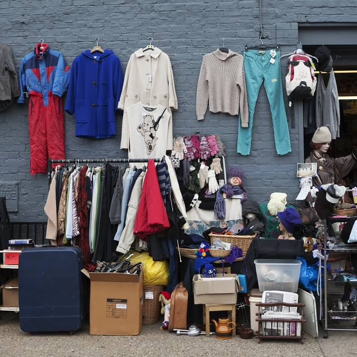mercado Brick Lane - londres