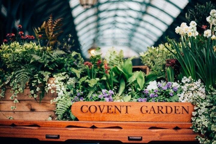 mercado em Covent Garden