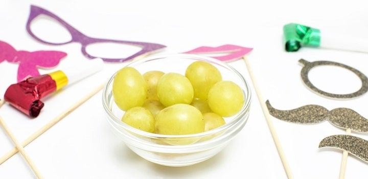passagem de ano uvas