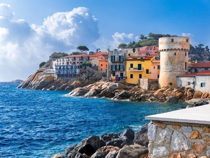 Ilha de Giglio, Itália
