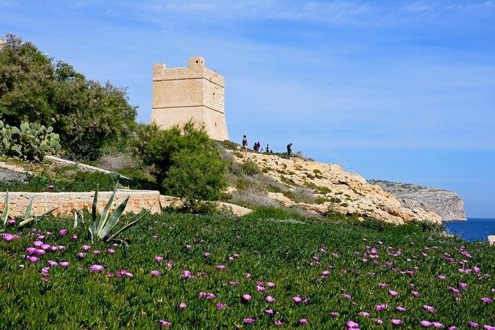 Gruta Azul - Malta - Primavera