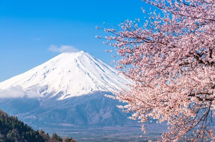 Monte Fuji – Japão - Primavera