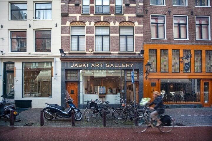 Nieuwe Spiegelstraat em amesterdão - holanda