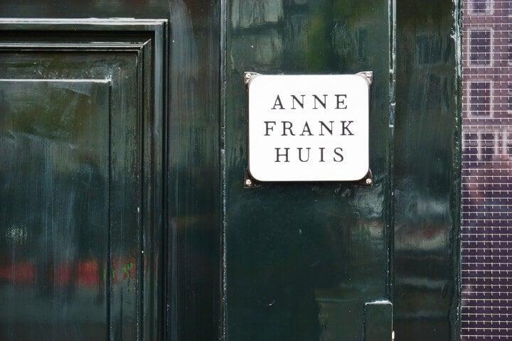 casa museu de anne frank house em amesterdão - holanda