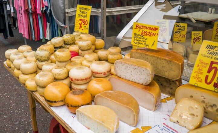 queijo holandes em amesterdao