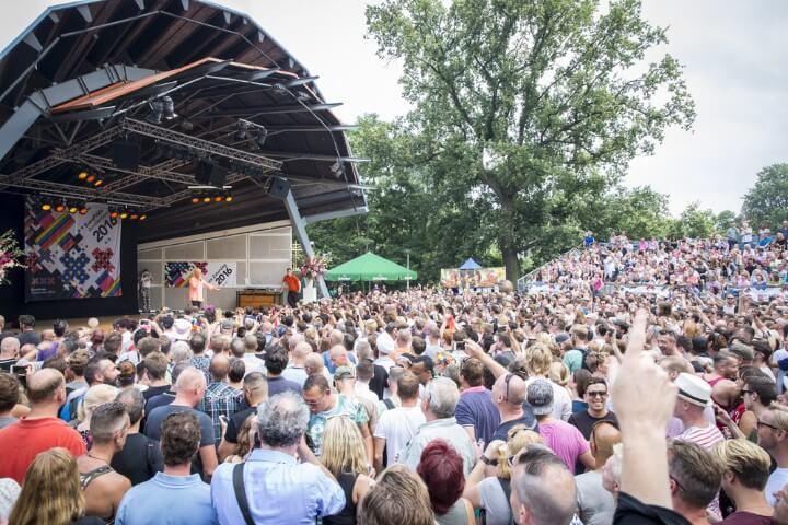 vondelpark - concerto gratis musica em amesterdão - holanda