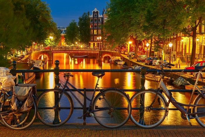 Viagem a Amesterdão com amigos