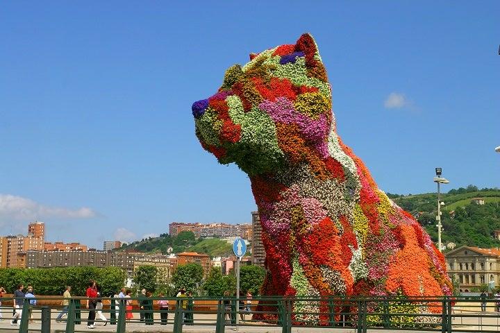 puppy museu Guggenheim bilbau