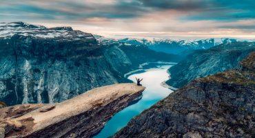 10 lugares a visitar na Noruega