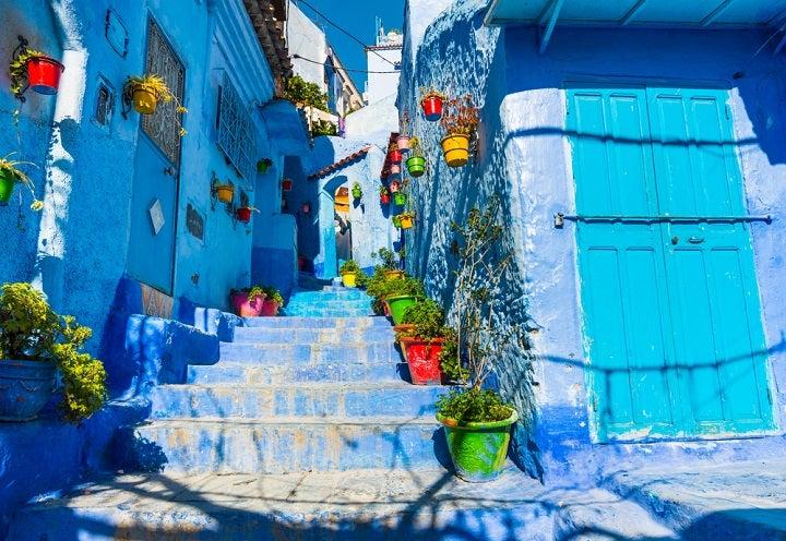 Chefchaouen - A cidade azul em Marrocos