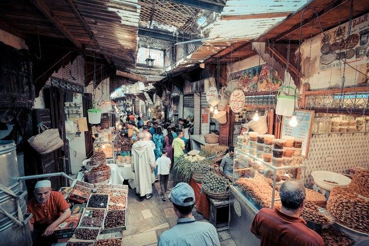 Medina Velha em Fez - Marrocos
