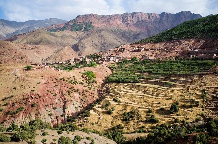 Montañas Atlas de Marruecos