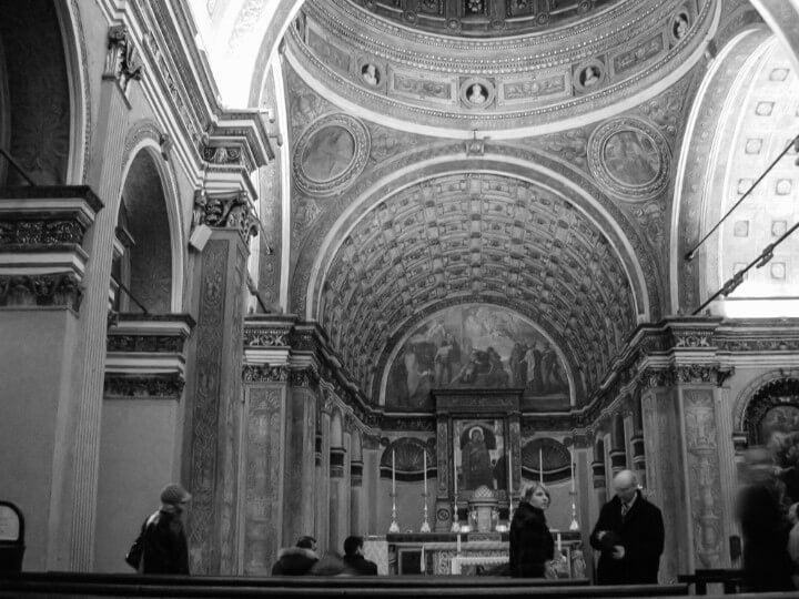 Igreja de San Satiro - em milão - itália