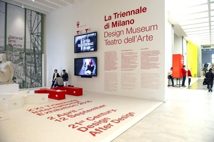 Triennale museu de arte contemporânea em milão - itália