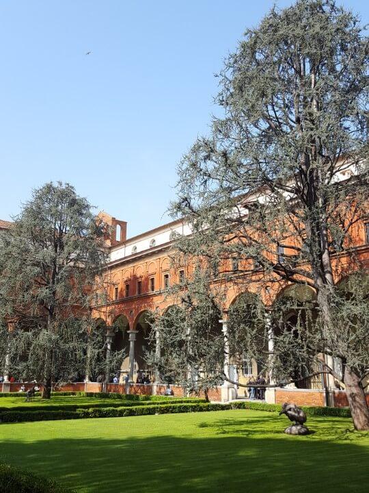 Universidade Católica do Sagrado Coração em milão - itália
