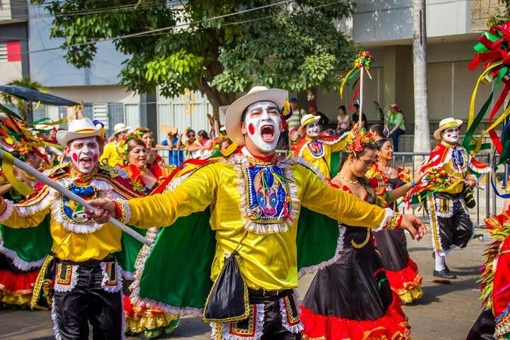 carnaval em barranquilha - colombia