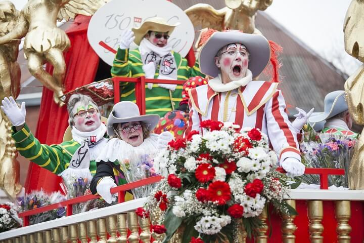 carnaval em colónia