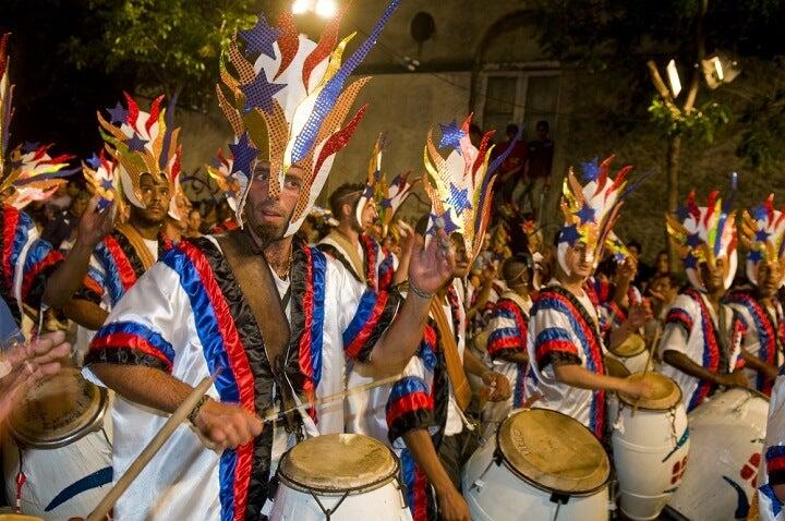 carnaval em montevideo - uruguai
