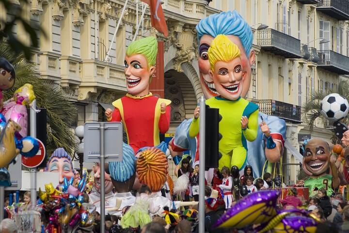 carnaval em nice - frança