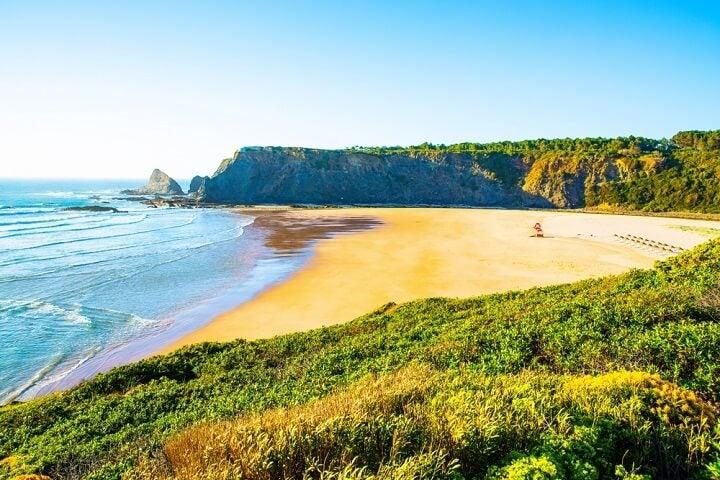 praia Odeceixe em portugal
