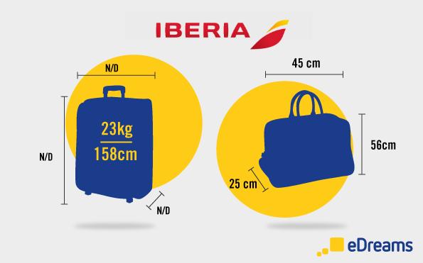 normas bagagem iberia