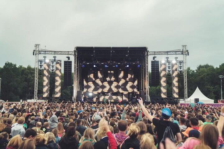 Festival Lollapalooza em berlim - alemanha