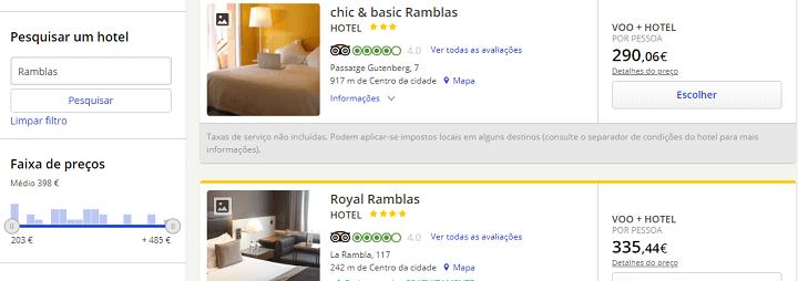 escolher nome hotel barcelona